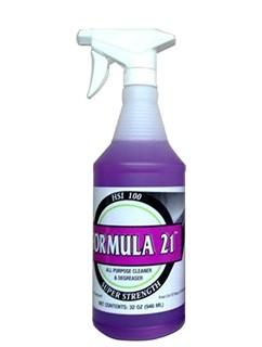Formula 21 Cleaner 32oz Spray Bottle