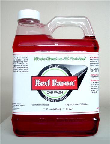 Red Baron Car Wash 1 Gallon